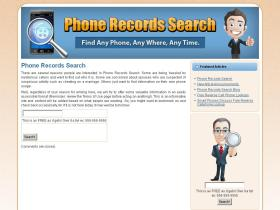 phonerecordssearch.com