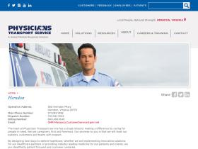 physicians-transport.com
