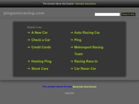 pingautoracing.com