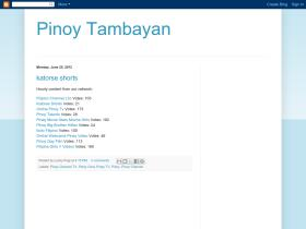 pinoy-tambayan-tv.blogspot.com