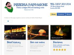 pizzeriapappagone.co.uk