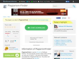 plagiarism-finder.software.informer.com