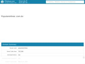 popularenlinea.com.do.websitetrafficspy.com