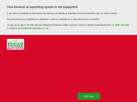 postcodelottery.co.uk
