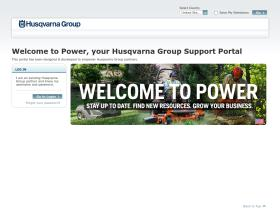 power.husqvarnagroup.com