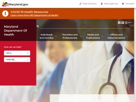 preparedness.dhmh.maryland.gov