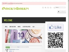 pricedgreen.com