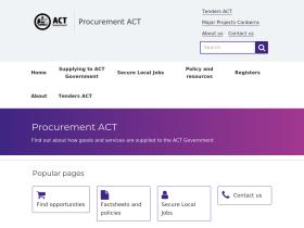 procurement.act.gov.au