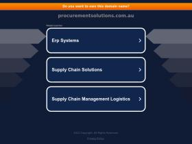 procurementsolutions.com.au