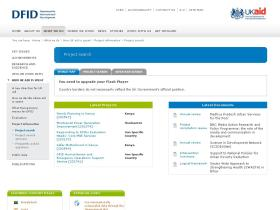 projects.dfid.gov.uk