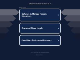 promuoveremusica.it
