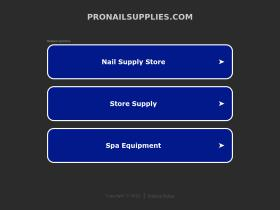 pronailsupplies.com