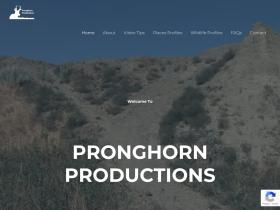 pronghornproductions.com
