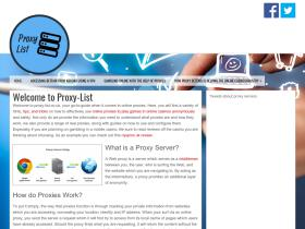 proxy-list.co.uk