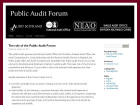 public-audit-forum.gov.uk