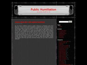 public-humiliation.co.uk