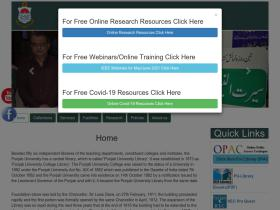 pulibrary.edu.pk