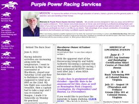 purplepowerracing.com
