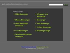 quienadmitemessenger.com