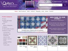 quiltersobsession.com