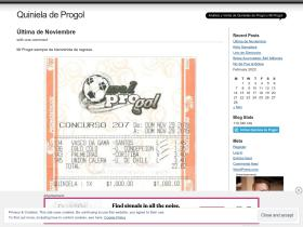 quinieladeprogol.wordpress.com