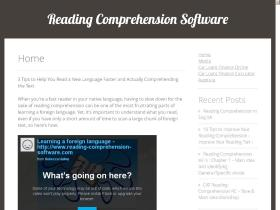 reading-comprehension-software.com