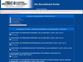 recruitment.eil.co.in