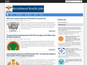 recruitmentnresults.blogspot.in