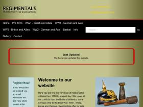 regimentals.co.uk