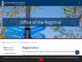 registration.columbusstate.edu