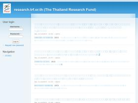 research.trf.or.th