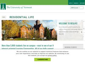 reslife.uvm.edu