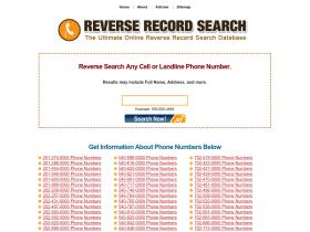 reverserecordsearch.com