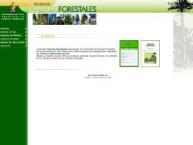 revistacienciasforestales.uchile.cl