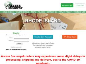 Access Securepak Rhode Island