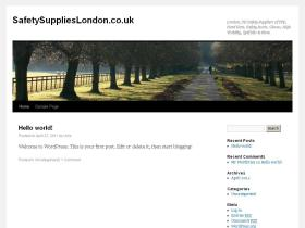 safetysupplieslondon.co.uk