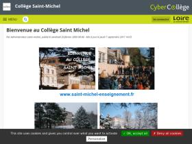 saint-michel.cybercolleges42.fr