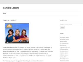 sampleletters.org.uk