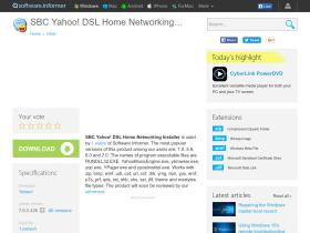 sbc-yahoo-dsl-home-networking-installer.software.informer.com