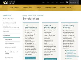 scholarships.csi.edu