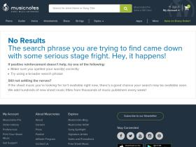 search.musicnotes.com