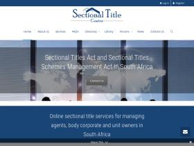 sectionaltitlecentre.co.za