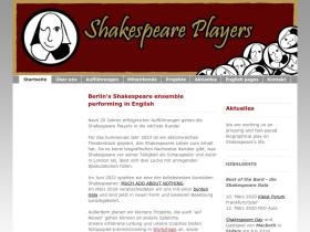 shakespeare-players.de