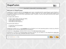 shapefusion.sourceforge.net