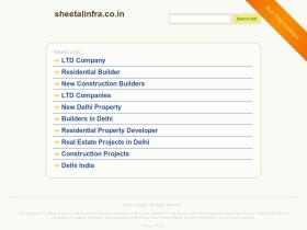 sheetalinfra.co.in