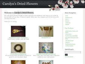 shop.carolynsdriedflowers.com