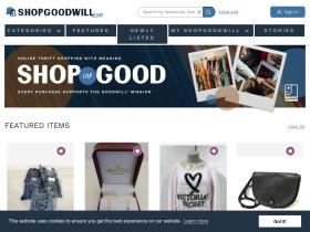 Goodwill.com shop online