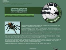 simplyspiders.co.uk