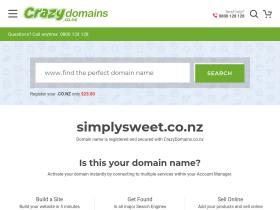 simplysweet.co.nz