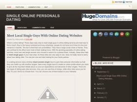 singlesonlinepersonals.blogspot.com